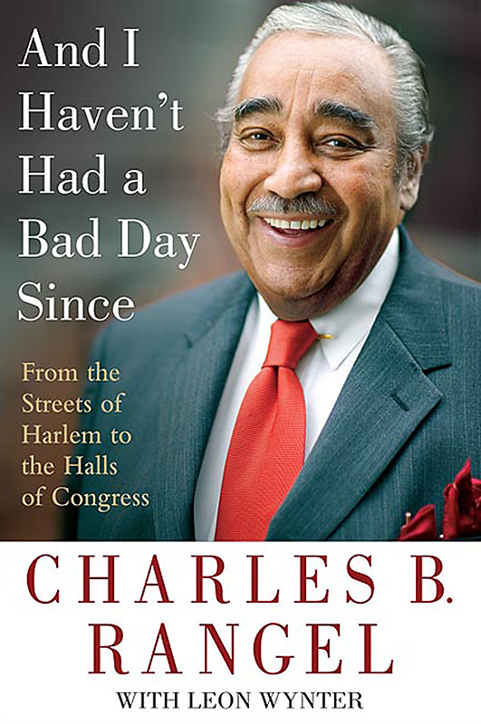 Cover of the autobiography of Congressman Charles B. Rangel.