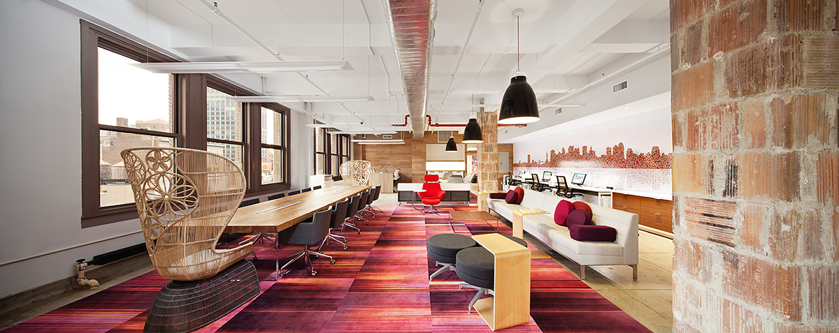 Empire Office Showroom, NYC.