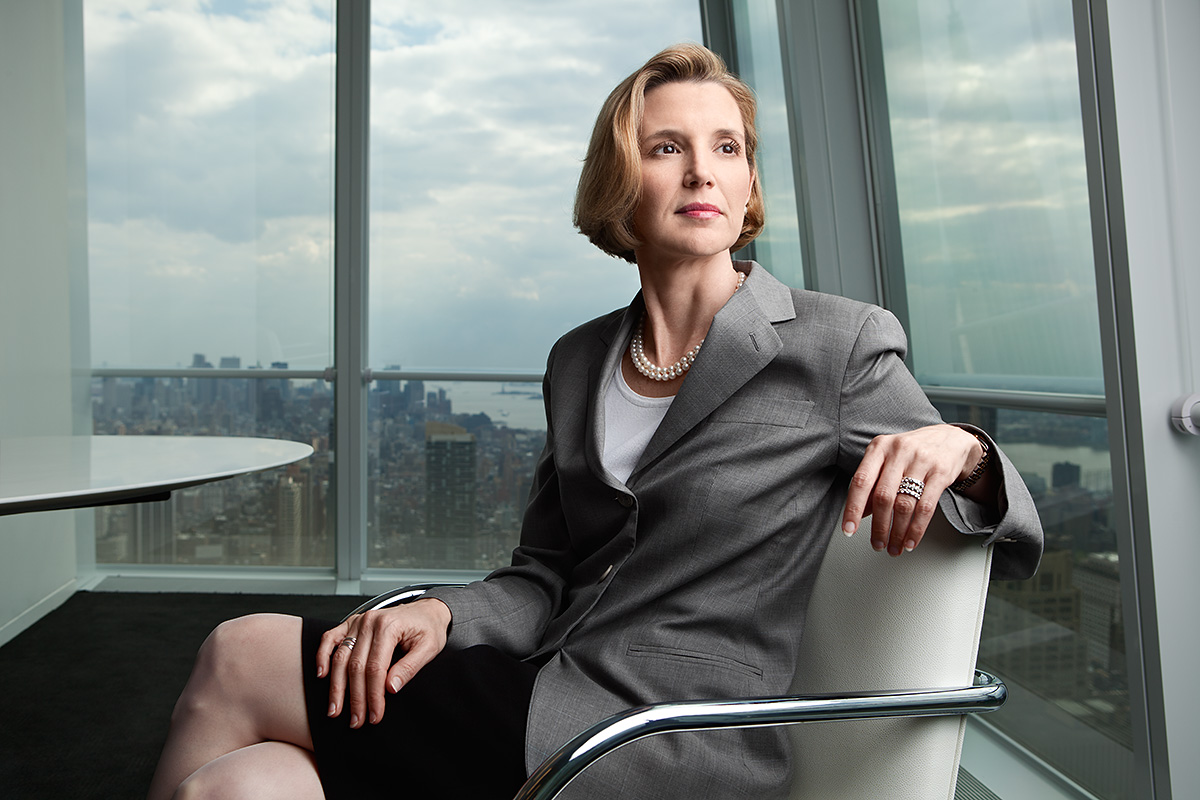 Sallie Krawcheck, President of Global Wealth & Investment Management, Bank of America.