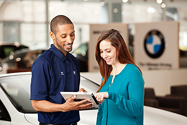 Corporate photography for BMW