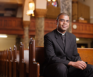 Father Alonzo Cox for Columbia Magazine