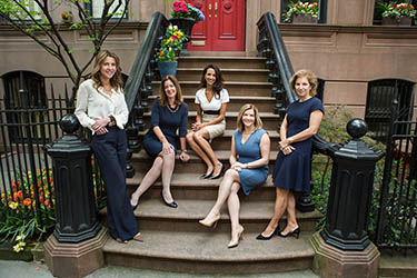 Financial advisors, photographed on location, West Village, NYC