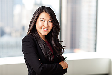 Corporate portrait of Jenny Chan, Heidrick & Struggles, New York.