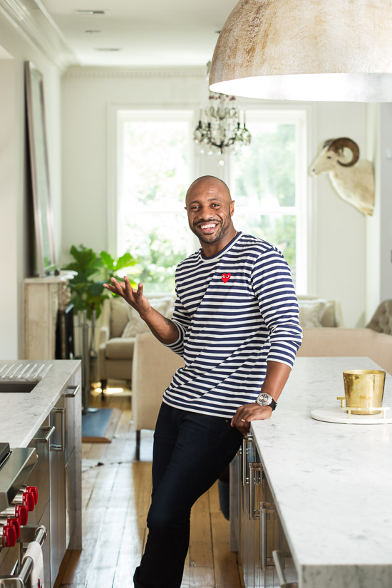 Jay Williams, ESPN host and former Chicago Bull, photographed in NYC for Dialogue Magazine