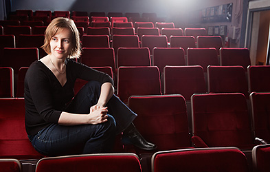 Sarah Cameron Sunde, theater-maker, director, translator.