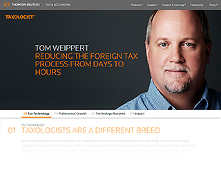 Corporate advertising photography for Thomson Reuters